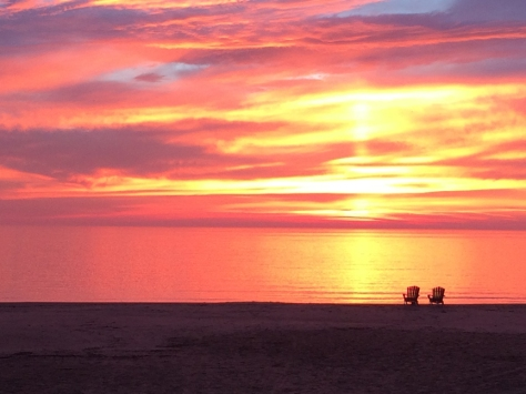 Sunrise_Lake Michigan_Sept 25